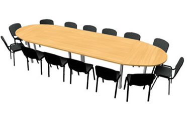 Table ovale pour 14 personnes xchange for Table ovale 12 personnes