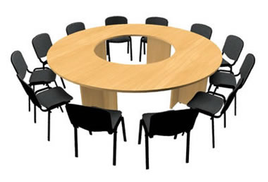 table ronde pour 12 personnes xchange. Black Bedroom Furniture Sets. Home Design Ideas