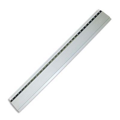 Règle de découpe Safetool - aluminium anodisée - 100 cm - barre antidérapante