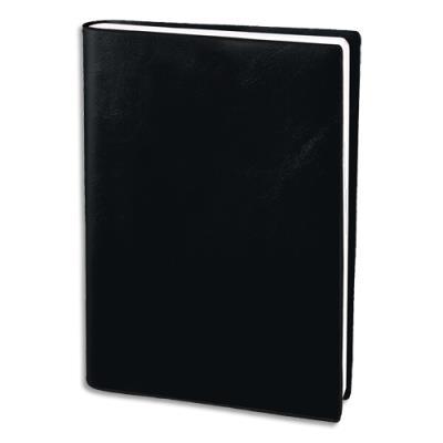 Agenda 2020 semainier économique - 10 x 15 cm - 1 semaine sur deux pages - noir (photo)