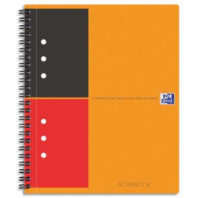 Oxford Office Cahier bureau Activebook - 160 pages - format 14,8 x 21 cm