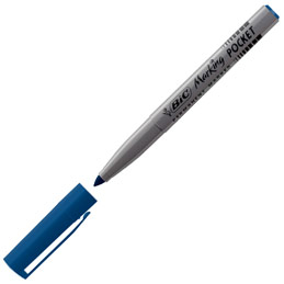 Bic Pocket - pointe ogive - 1 mm - bleu (photo)