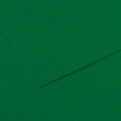 Feuille dessin couleur 50 x 65 cm dessin Tiziano 160g grain moyen teinte dans la masse/ Vert foncé Ecole (photo)