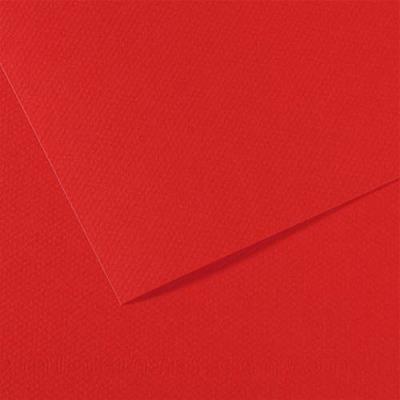 Feuille dessin couleur 50 x 65 cm dessin Tiziano 160g Rouge Vésuve Ecole (photo)