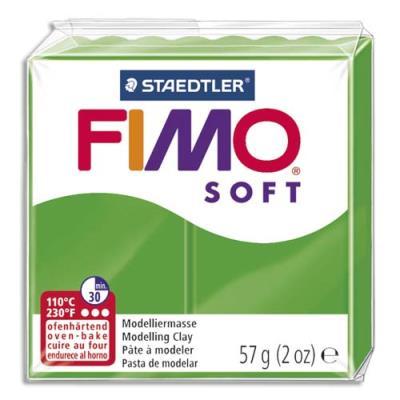 Pâte à cuire Fimo Soft 56 g / Vert (photo)
