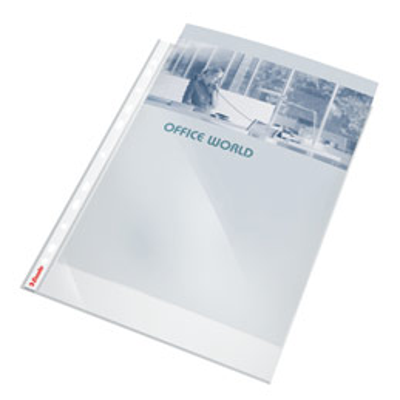 Pochettes perforées polypropylène lisse 8/100e - perforation 11 trous - format A4 - Sachet de 100 (photo)