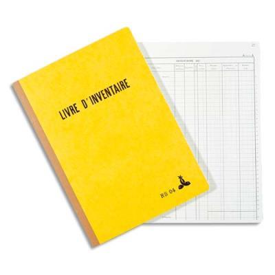 Piqûre livre d'inventaire Le Dauphin - 21x29.7 cm - 160 feuilles (photo)