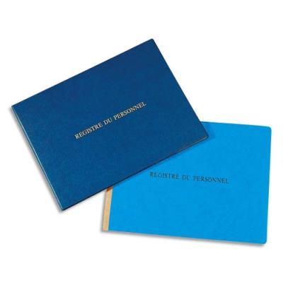 Registre du personnel Le Dauphin - 24x32 cm - 80 pages + garde