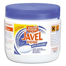 Pastilles de javel anticalcaire Eau ecarlate - boite de 112 pastilles de javel (photo)