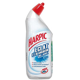 Gel WC à la javel Harpic éclat et blancheur - 750 ml (photo)