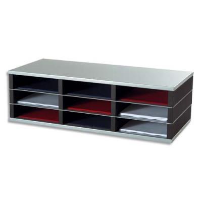 Trieurs a cases modulable et mobile Paperflow - 9 cases A4 - élément départ