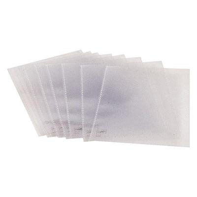 Etui transparent - format 10,5 x 14,8 cm - A6 - sac 25 unités (photo)
