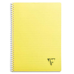cahier clairefontaine linicolor fresh reliure spirales a4 180 pages petits carreaux. Black Bedroom Furniture Sets. Home Design Ideas