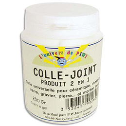 Mosaîque / Colle joint Pot de 250 g (photo)