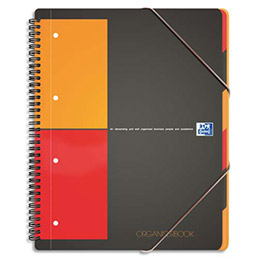 Cahier Trieur Oxford Organiserbook Reliure Spirales A4 180