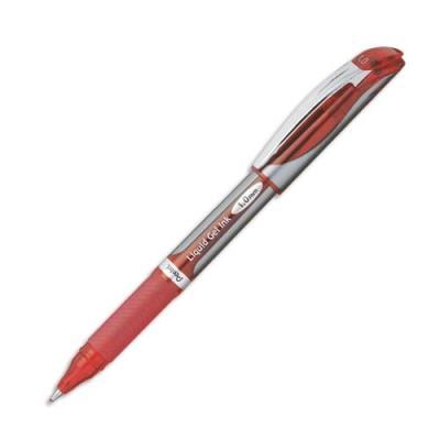 Roller Pentel Energel BL60 - pointe métal - pointe 1 mm - rouge