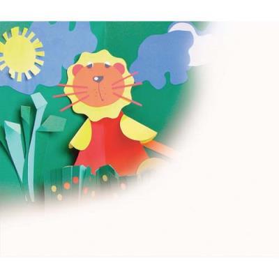 Paquet de 25 feuilles Cartoline 130g couleurs assorties 50x65 cm Ecole