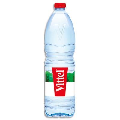 Bouteille d'eau minérale Vittel - 1,5 L (photo)
