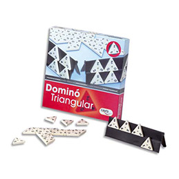 Jeu des dominos triangulaires (photo)