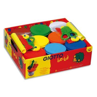 Pâte à jouer Giotto - boîte de 8 x 220 g (photo)