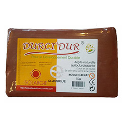 Pain de 10kg de Durci'Dur rouge (photo)