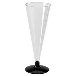 flutes plastiques cristal boite de 6 achat pas cher. Black Bedroom Furniture Sets. Home Design Ideas
