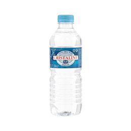 Bouteille d'eau de source Cristaline - 50 cl (photo)