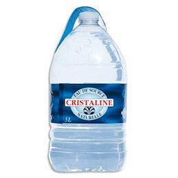 Bonbonne d'eau de source Cristaline - 5 L (photo)