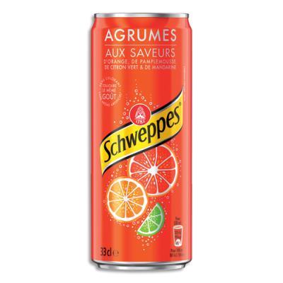 Schweppes Agrum - canette de 33cl (photo)