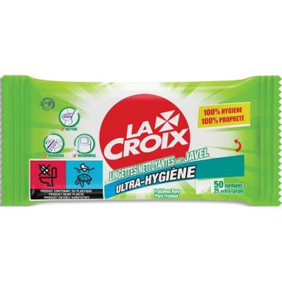 Lingettes javelisées Lacroix - paquet de 50 (photo)