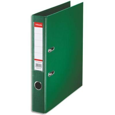 Classeur à levier Esselte - dos de 5 cm - plastifié intérieur et extérieur - vert