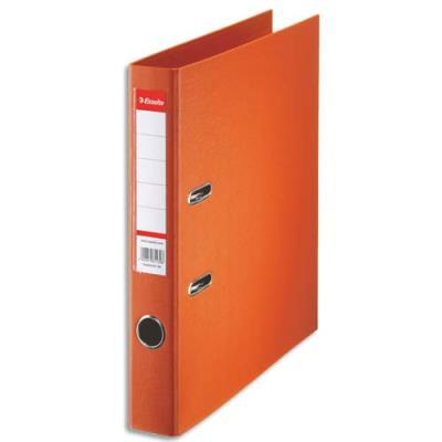 Classeur à levier Esselte - dos de 5 cm - plastifié intérieur et extérieur - orange