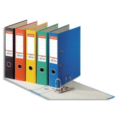 Classeur à levier en carton Esselte Rainbow - A4 - dos de 8 cm - coloris assortis