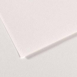 Manipack de 25 feuilles papier dessin Canson - mi-teintes - 160g - 50x65cm - blanc (photo)