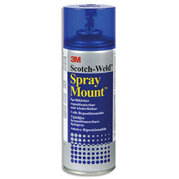 Aérosol de colle 3M Spray Mount - pour montages successifs - 400 ml (photo)