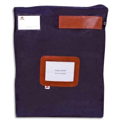 Pochette navette Alba - format 40x5x50cm - bleu (photo)