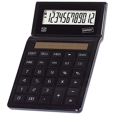 Calculatrice de bureau  Eco E23 - 12 chiffres (photo)