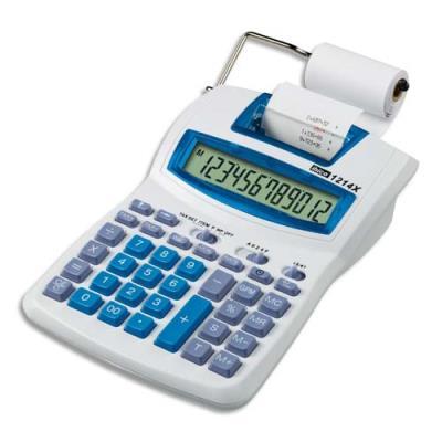 Calculatrice semi-professionnel avec imprimante Ibico Calcul 1214x - 12 chiffres