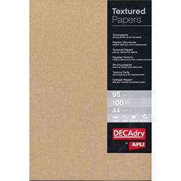 Boîte de 50 feuilles Decadry -  kraft papier - A4 - 165 g (photo)