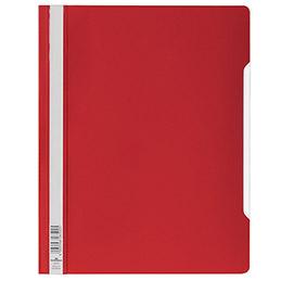Chemise de présentation à lamelles Durable en PVC - 24 x 31 cm - rouge (photo)