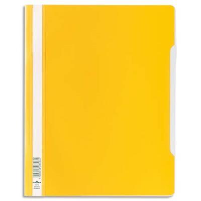 Chemise de présentation à lamelles Durable en PVC - 24 x 31 cm - jaune (photo)