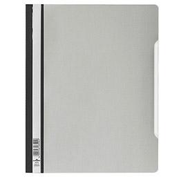 Chemise de présentation à lamelles Durable en PVC - 24 x 31 cm - gris (photo)