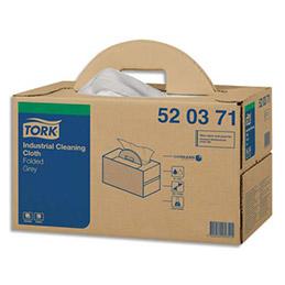 Chiffons non tissés Tork Premium 520  - 280 formats - 42 x 38 cm - pour gros travaux (photo)