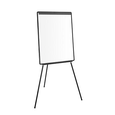 Chevalet de conférence - surface en mélamine - 660 x 1010 mm - blanc (photo)
