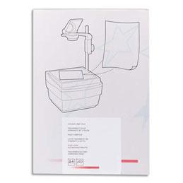Transparents 1er prix - antistatiques pour photocopieur - boite de 100 (photo)