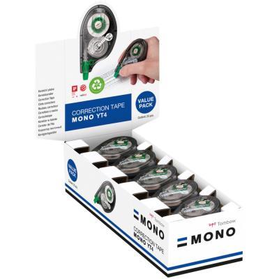 Roller de correction Mono TAPE 4,2mm x 10m translucide - pack de 15 + 5 OFFERTS - paquet 20 unités