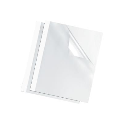 Couvertures thermiques Fellowes - A4 - 1,5 mm - 150µ+200g - blanches - boîte de 100