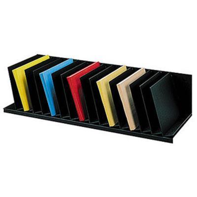 Trieur 16 cases inclinées largeur 92 cm noir