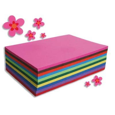 Paquet de 250 feuilles Carta Clairefontaine - format A4 130 g - couleurs assorties