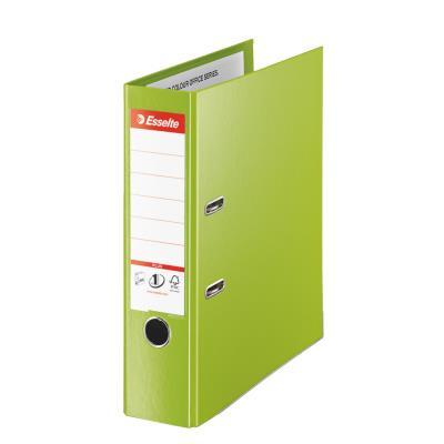 Classeur à levier Esselte Plus - polypropylène - format maxi A4+ - dos 8 cm - vert